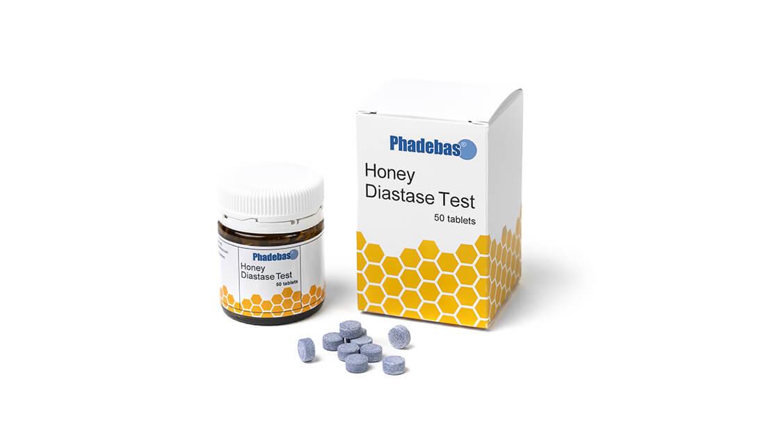 Тест для определения диастазы меда Phadebas® Honey Diastase Test